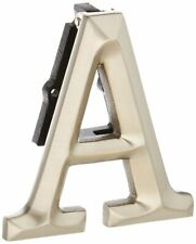 "Monogram Letter A Door Knocker - Nickel Silver Measures 3""x4"""