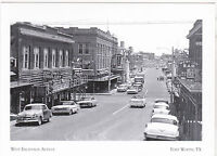 "*Postcard-The West Exchange Avenue"" -1950's- at Ft. Worth, Texas (A-9)"