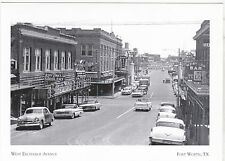 "*Postcard-""The West Exchange Avenue"" -1950's- @ Ft.Worth, Texas (A-9)"