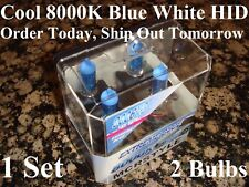 9006XS 8000K Blue White Xenon HID Low Beam Headlight 55W Halogen Light Bulbs