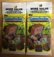RARE Garbage Pail Kids 2016 Prime Slime Trashy TV Rare Fat Pack / Value Pack (1)