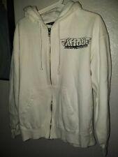 Famous Stars And Straps Medium White Hoodie Sweatshirt