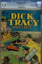 "DICK TRACY #2-CGC 7.5- 1948 ""D"" COPY- HIGRADE CRIME"