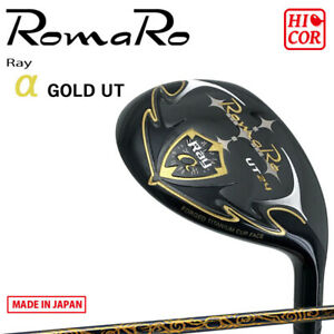 RomaRo Golf Japan Ray α GOLD Utility Hybrid RJ-TF UT Plemium Light alpha 2021c