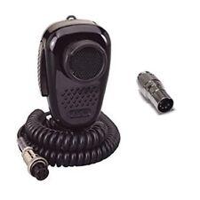 RANGER SRA-198 4-Pin CB Radio Microphone W/ 5-Pin DIN Radio Compatible Adapter