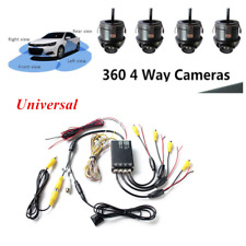 Car Parking Panoramic Rearview Camera System 360 Degree View +4 Camera Accessory