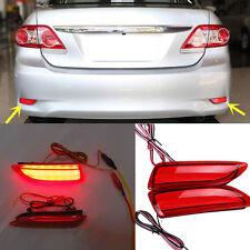 For Toyota Corolla 2011-2013 Brake Lights Rear Bumper Light Rear Fog Lamps