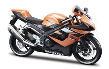 Motorrad Modell 1:12 Suzuki GSX-R 1000 bronce von Maisto mit Wunschkennzeichen