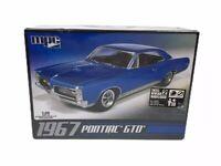 MPC 1967 Pontiac GTO - Model Kit MPC710L/12 - Scale 1:25 - FACTORY SEALED