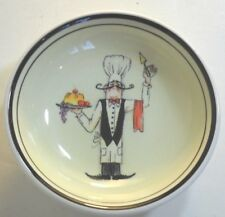 HD Designs Le Chef French Waiters Individual Dip Bowl Thin Waiter used