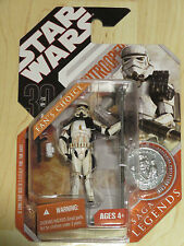 Star Wars`Saga Lengends 30th Anniversary Ep IV Sandtrooper w/ Coin NOSC 2