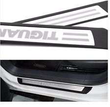 Stainless Door sill scuff plate For vw Tiguan 2009 - 2011 2012 2013 2014 2015