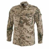 Authentic German Army Combat Field Shirt Tropical Flecktarn Camo Bundeswehr
