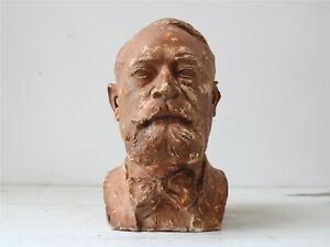 Early 20th Century French Bust of Louis Pasteur