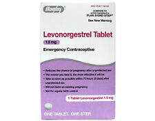 Rugby Levonorgestrel Tablet 1.5 mg Emergency Contraceptive 1 Tablet