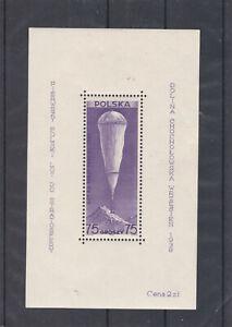 1938 Block 6 Gaplanter Stratosphärenflug Postfrisch ** MNH