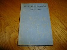 ENID BLYTON-FIVE GO ADVENTURING AGAIN-1ST-SIGNED-1943-HB-P-H & S-MEGA RARE