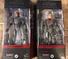 Crosshair + Hunter Lot - Star Wars The Black Series: The Bad Batch Action Figure