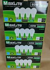 16 pack LED Light Bulbs New 60 Watt Equivalent A19 Dimmable Daylight 5000k Lot