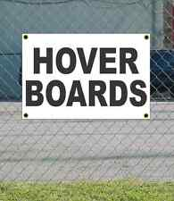 2x3 HOVER BOARDS Black & White Banner Sign NEW Discount Size & Price FREE SHIP
