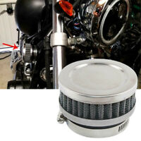 48mm-50mm New Motorcycle Scooter Stainless Steel Air Intake Filter Cleane+Clamp