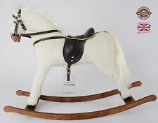 "Beautiful Handmade Brand New Rocking Horse ""Titan V"" from MJMARK MADE IN EUROPE"