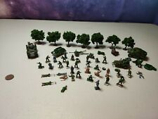 Esci and Matchbox 1/32 scale Mixed soldiers, vehicles and Scenery