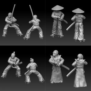 Samurai D&D Onmioji  28mm 32mm