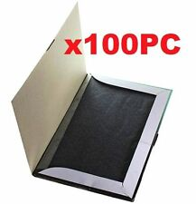 100 Sheets A4 Black Carbon Paper Hand Copier Stencil Transfer Repr Set 100PCs