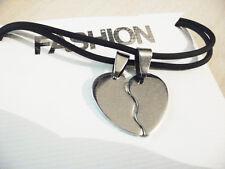 Mezzo cuore regalo san valentino - collana ciondolo cuore amore love