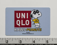 Snoopy PEANUTS KAWS UNIQLO Graphic Gift Card Japan Limited (No Balance Value) c