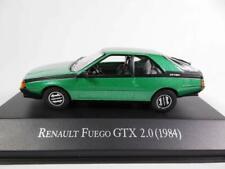 RENAULT FUEGO GTX 2 LITRES 2.0 1984 GREEN IXO ALTAYA 1/43 ARGENTINE ARGENTINA