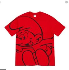 Supreme Smurfs Tee Shirt M *Red In Hand*