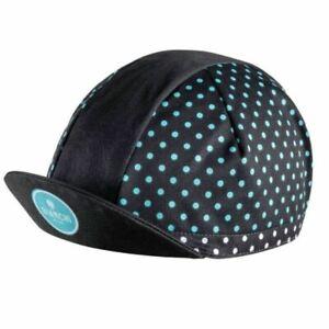 Bianchi-Milano Summer Cycling Cap -Mini Polka Dot - Made in Italy