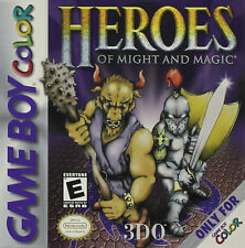 Heroes of Might & Magic GBC New Game Boy Color