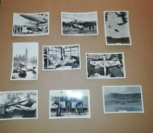 SENIOR SERVICE CIGARETTE CARDS * FLYING * 1938 ~ 20 CARDS 20 / 48