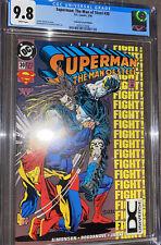 Superman The Man of Steel #30 CGC 9.8 DC Universe UPC Logo DCU Variant LOBO HTF
