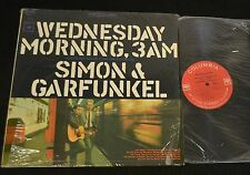 CLEAN Simon & Garfunkel Wednesday Morning 3AM Columbia Stereo 9049