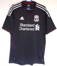 "EX! Liverpool FC 2011/2012 Away Shirt Black S SMALL 32"" - 34"" Trikot Camiseta"