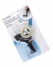 MINI STICKY TAPE DISPENSER GUN WITH ROLL OF TAPE HOME OFFICE SMALL HOLDER