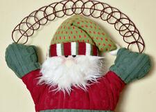 Handmade ADVENT CALENDAR-Vintage Christmas/Santa Countdown Calendar-1970s