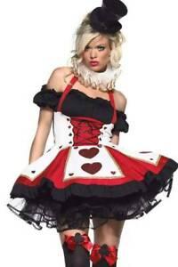 Pretty Karten-Spielerin Poker Kostüm Minikleid
