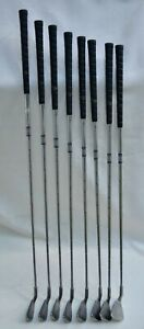 Rare Ping I Karsten Black Dot Toe Heel 17-4 Balance RIGHT-HANDED 2, 4-W Iron Set