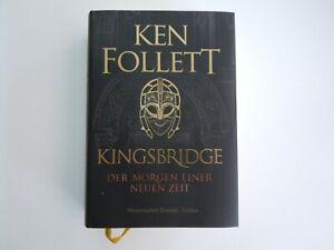 Kingsbridge - Ken Follet - Gebundene Ausgabe mit Schutzumschlag - nur 1x gelesen