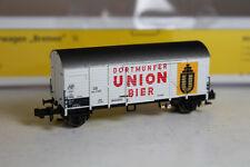 Brawa N 67301 Ged. Güterwagen Dortmunder Union Bier DB 504 278 P Epoche III.