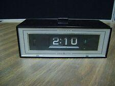 GE flip number clock alarm lighted dial 492E vintage