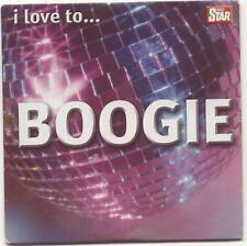 I LOVE TO BOOGIE - UK PROMO CD: TAVARES, SISTER SLEDGE, MARTHA REEVES, HEATWAVE