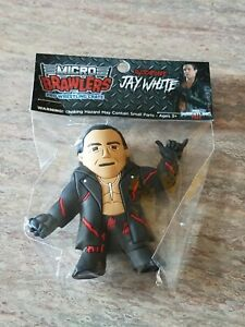 Switchblade Jay White figure Micro Brawler Pro Wrestling Crate Exclusive NJPW
