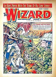 WIZARD - 13th JANUARY 1962 (9 - 15 Jan) RARE 60th BIRTHDAY GIFT !!...beano eagle