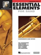 Essential Elements for Band Book 2 with EEi Trombone Book Media Online 000862599